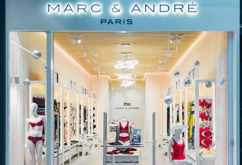 Магазин французького бренду жіночої білизни Marc & André відкрився у Lavina Mall