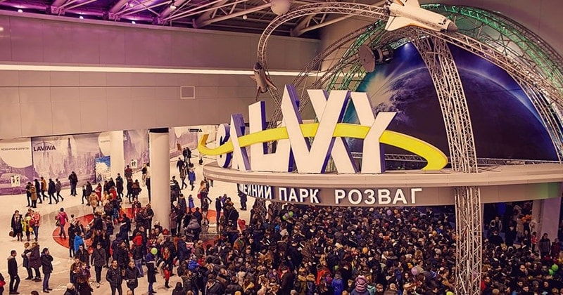 NAI Ukraine: на новорічні свята сімейний розважальний парк Galaxy у Lavina Mall відвідало більше 100 тисяч осіб