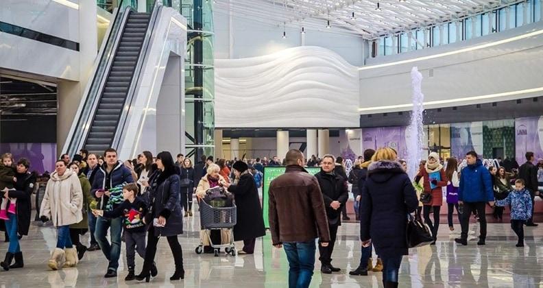 NAI Ukraine: більше 70% киян люблять робити покупки у комфортних умовах торгових центрів
