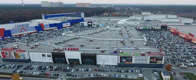 NAI Ukraine: Понад 500 000 людей відвідали Lavina Mall в останній тиждень 2017 року