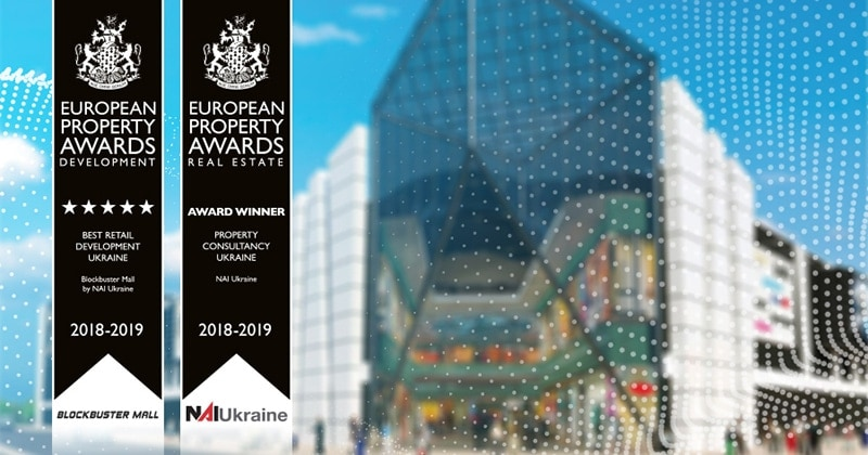 NAI Ukraine is honored to receive recognition by the European Property Awards in two categories