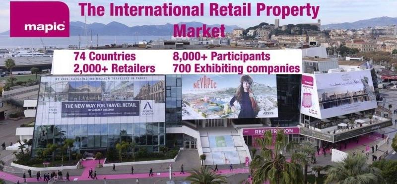 NAI Ukraine візьме участь у міжнародній виставці MAPIC у Каннах