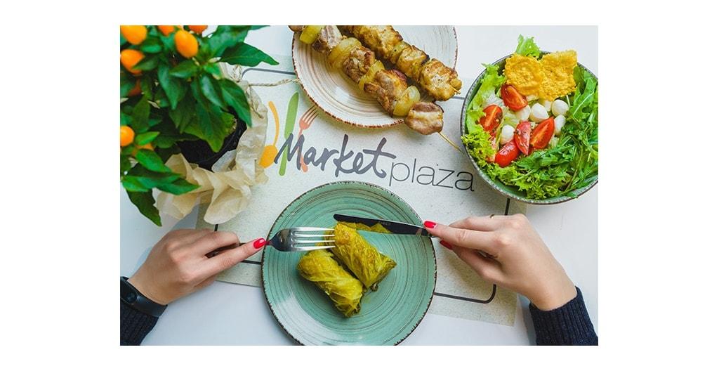На фудкорті в Lavina Mall відкривається ресторан MarketPlaza