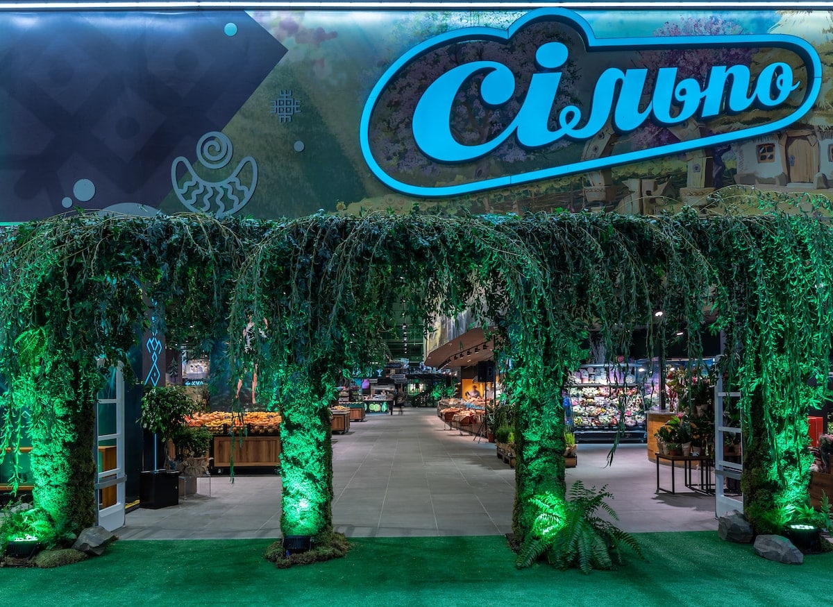 Найбільший дизайнерський «Сільпо» у форматі «Мавка. Лісова пісня» відкрився у Blockbuster Mall
