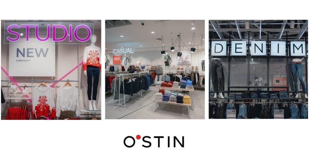 Новый магазин в Lavina Mall: O`STIN уже открыт!
