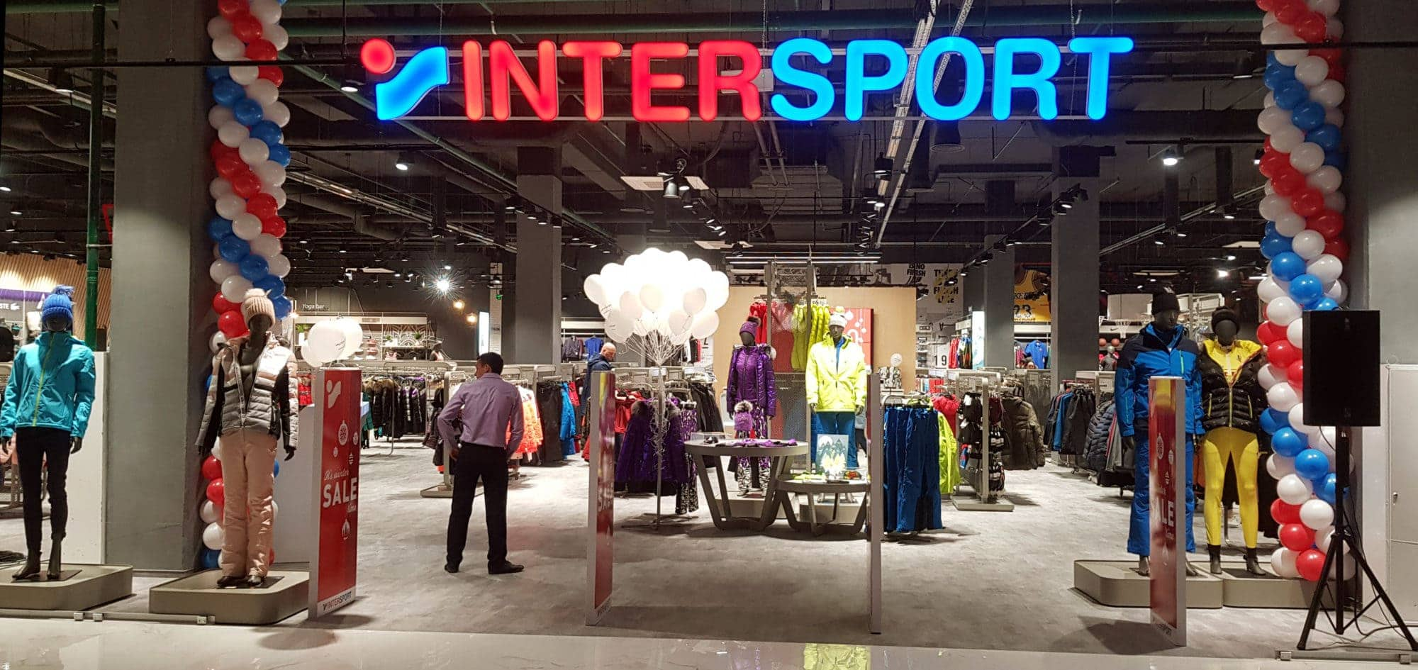 На другому поверсі Blockbuster Mall відкрився магазин Intersport