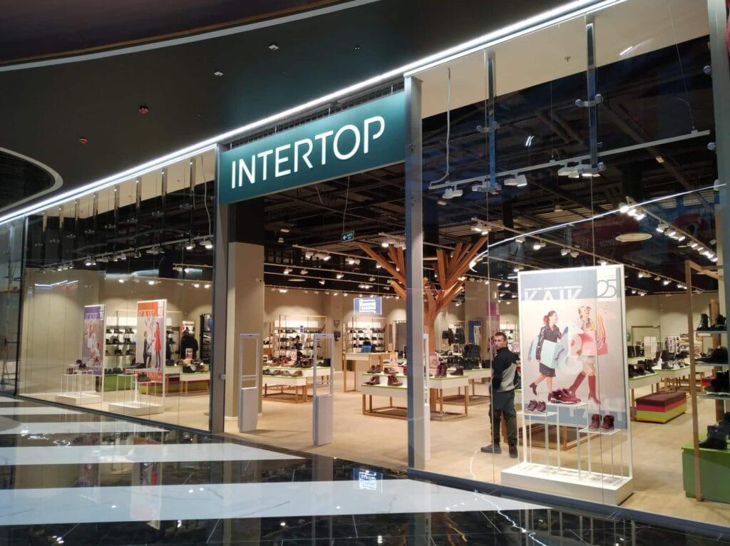 Много обуви от Intertop: в Blockbuster Mall открылся магазин площадью 524 кв.м