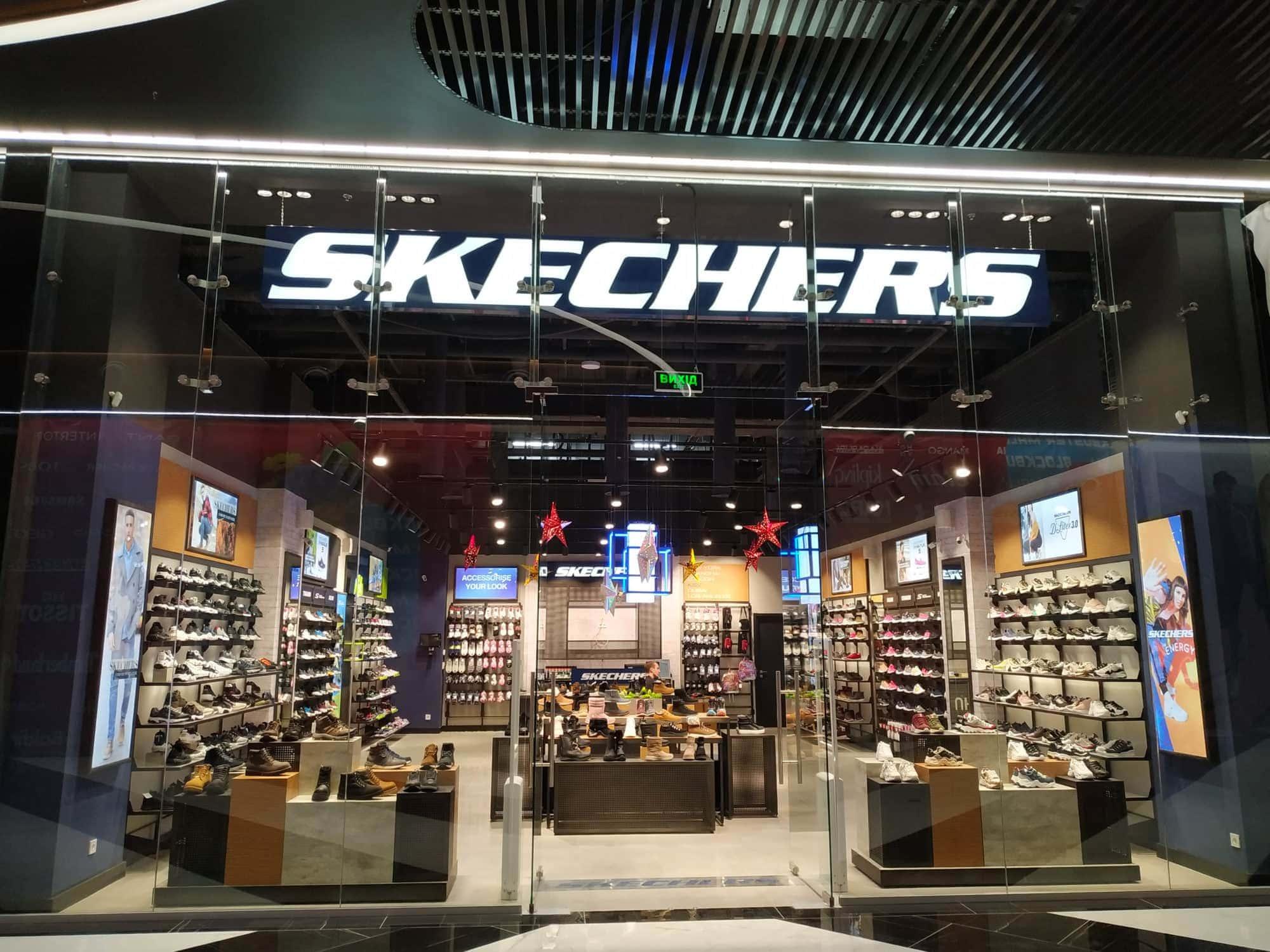 У Blockbuster Mall відкрився магазин американського бренду Skechers