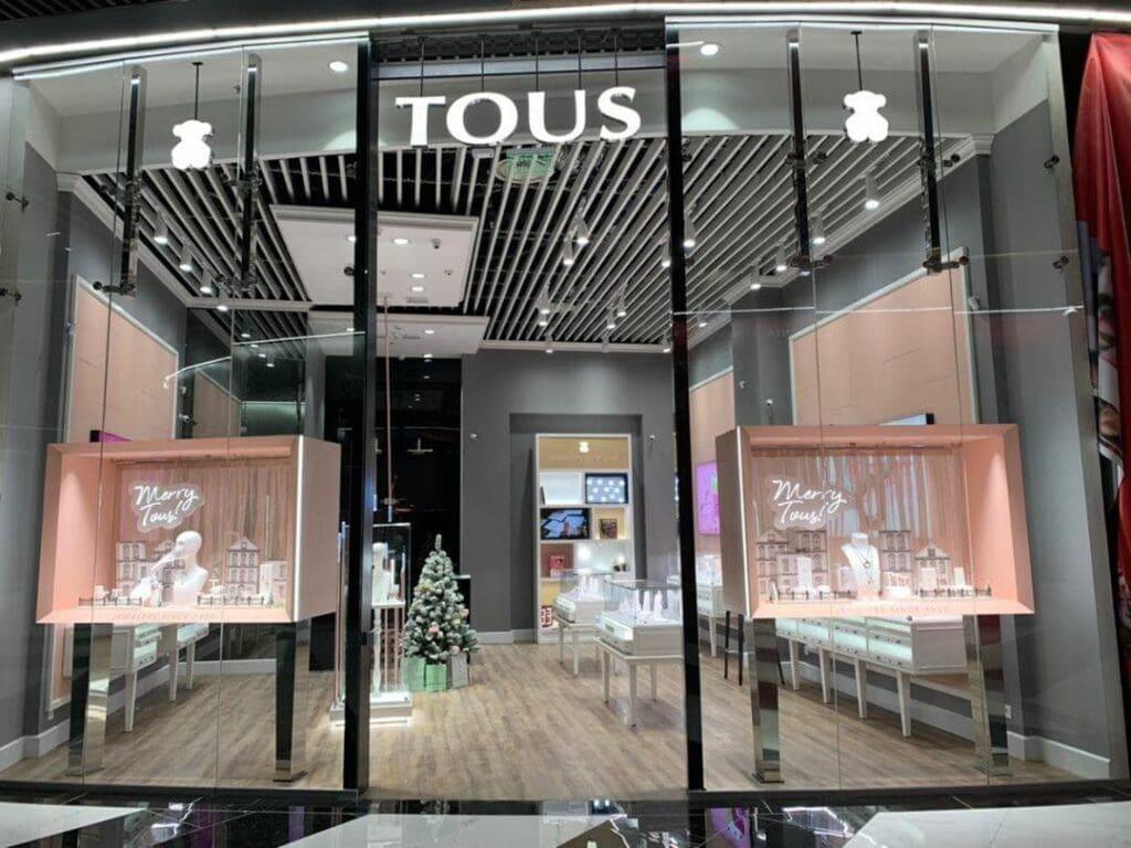 TOUS в Blockbuster Mall: магазин с креативными украшениями испанского бренда открыт на первом этаже