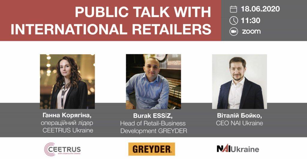 Public talk на тему «Развитие компании GREYDER в Украине»