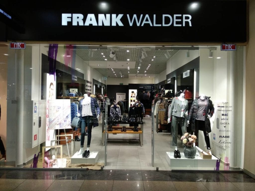 German brand FRANK WALDER soon at Blockbuster Mall