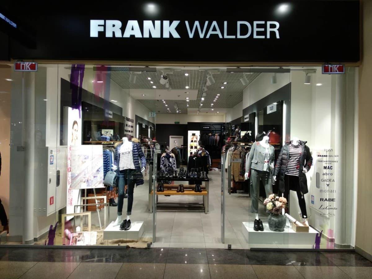 Німецька торговельна марка FRANK WALDER скоро у Blockbuster Mall
