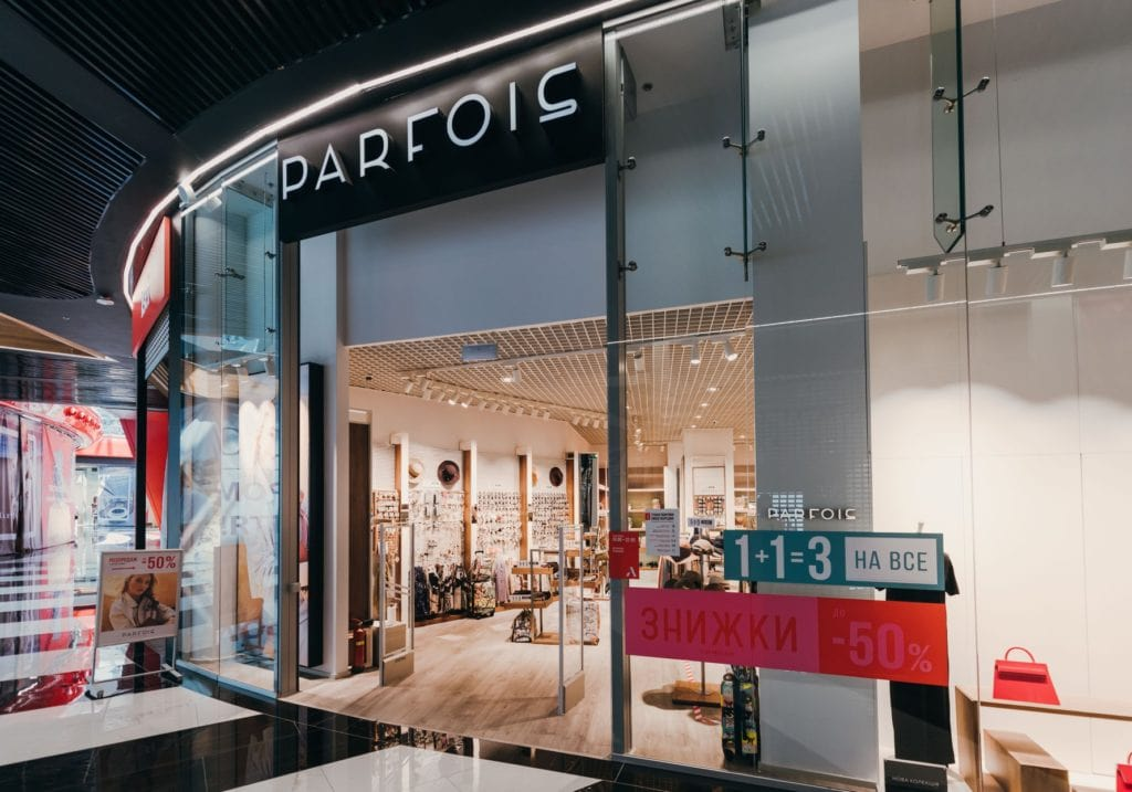 Португальский бренд PARFOIS открылся в Blockbuster Mall