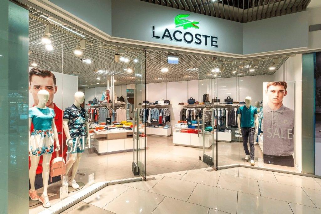 Известный бренд Lacoste откроется в Blockbuster Mall