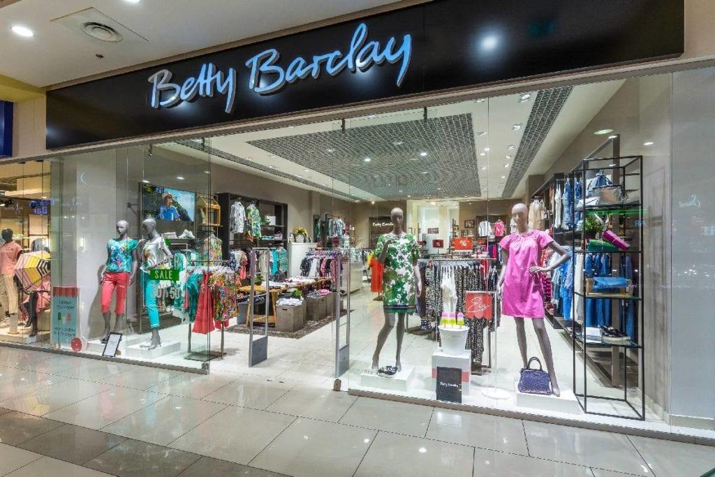 Среди новых магазинов одежды в Blockbuster Mall — Betty Barclay ⠀