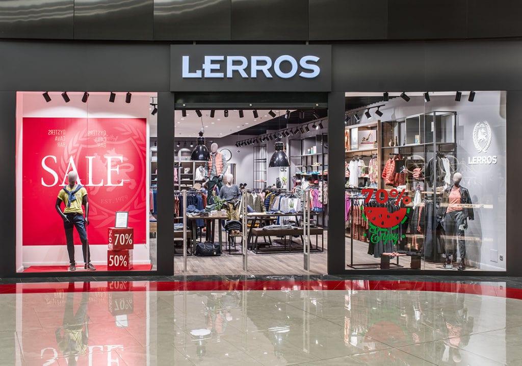 Брендовый магазин Lerros открыто в Blockbuster Mall
