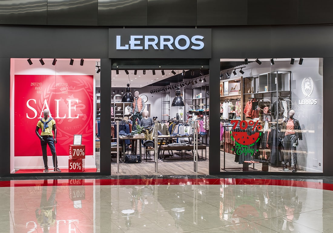 Lerros brand store opens at Blockbuster Mall