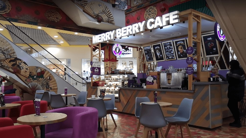 Merry Berry Café is open at Lavina Mall