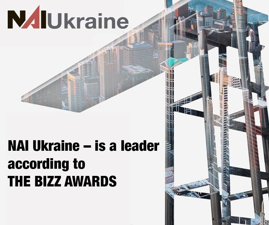 NAI Ukraine — компания лидер по версии THE BIZZ AWARDS