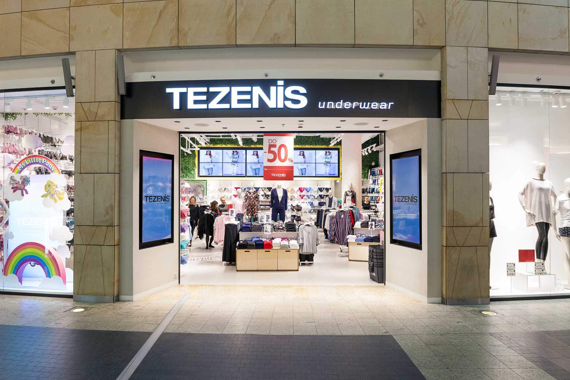TEZENIS Italian underwear shop for young people is already in Blockbuster Mall