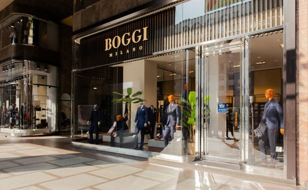 Boggi Milano opened at Blockbuster Mall