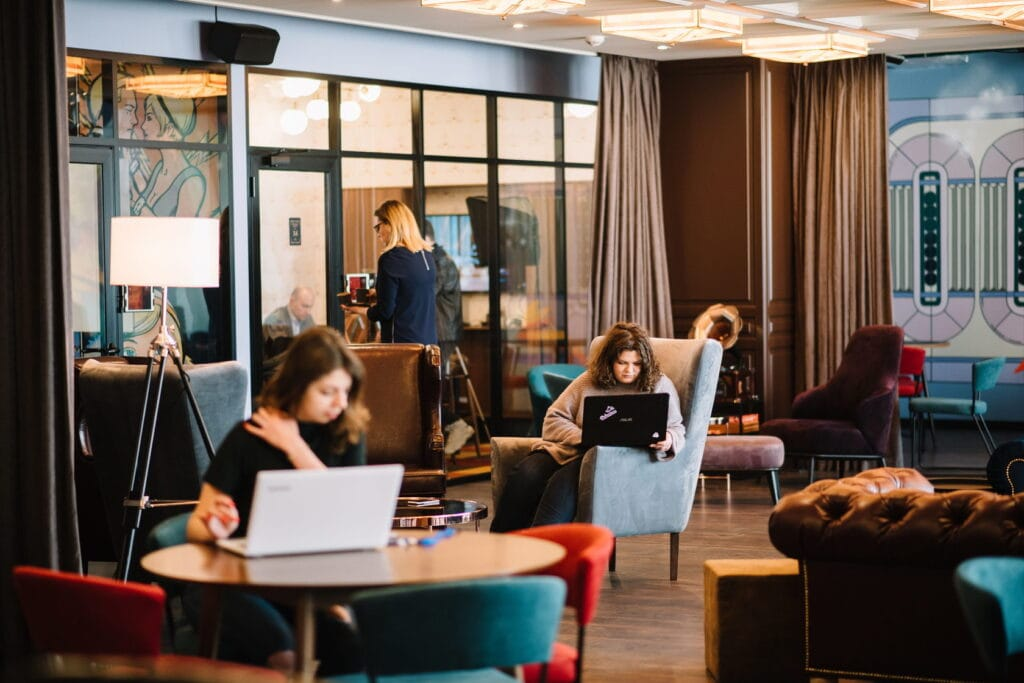 How Work From Home transformed hotels into offices