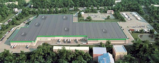 Komodor Logistic Park