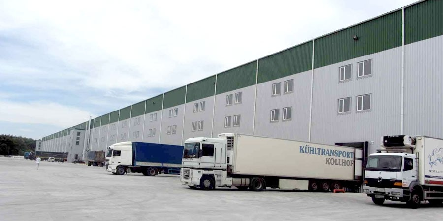 """Office and logistics complex """"Schastlyve"""""""