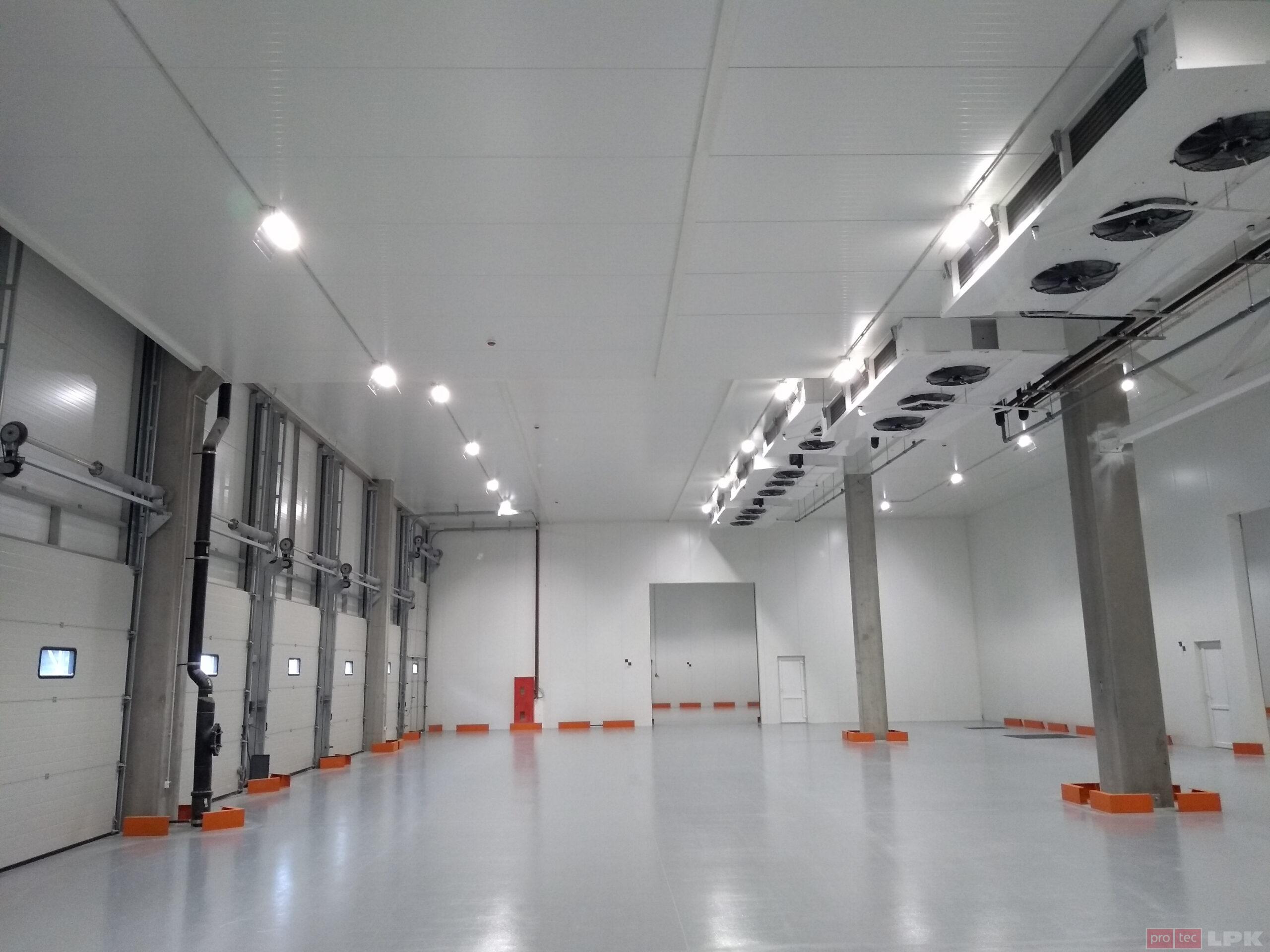 Refrigerated warehouses Protec Zymna Voda