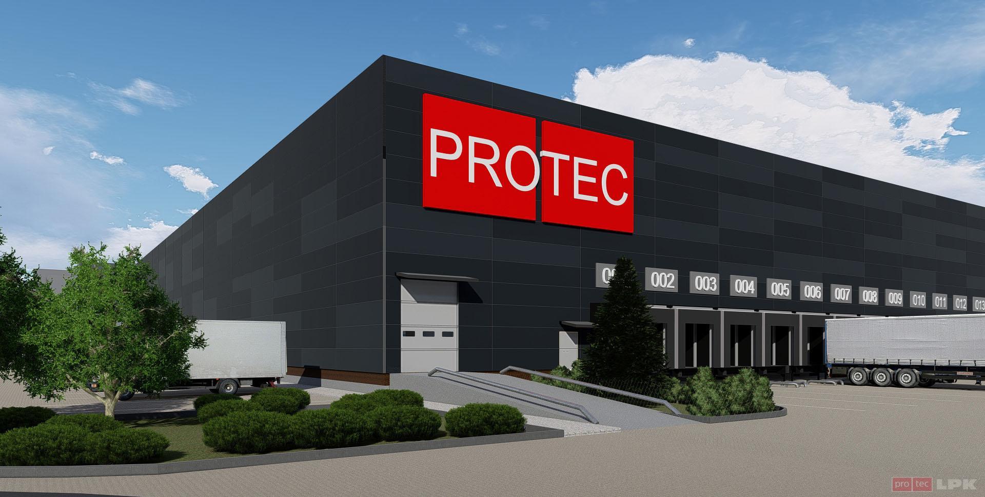 Logistics complex Protec Zymna Voda