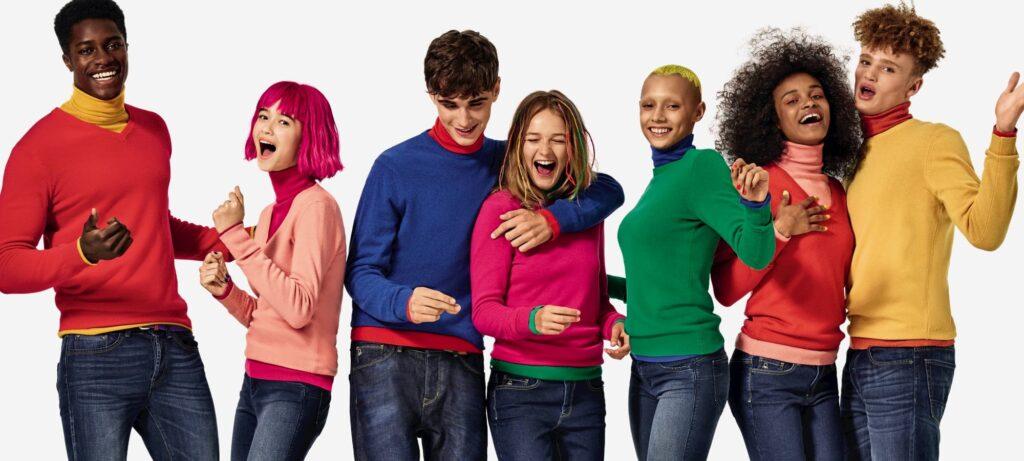 Скоро открытие — 375 кв м нового United Colors of Benetton в Blockbuster Mall!