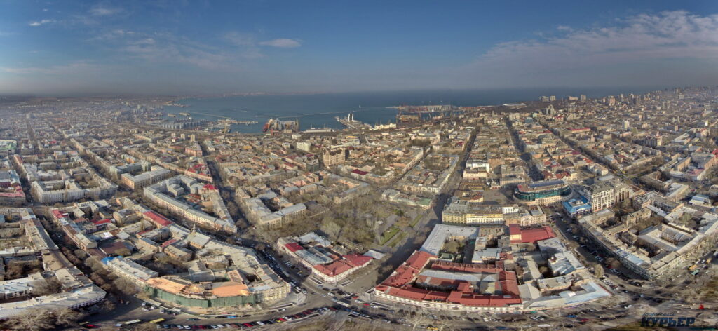 Концепция нового МФК в Одессе